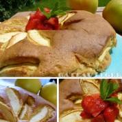 Recette : gâteau léger aux pommes bio et/ou vegan