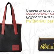 Concours : Gagnez des sacs en coton bio My biotiful bag !