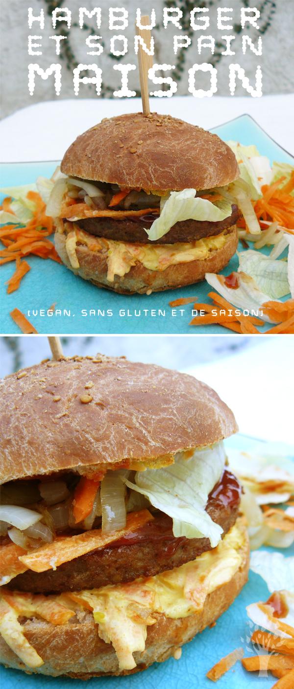 Hamburger-et-son-pain-maison