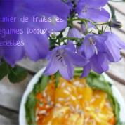 Panier de fruits et légumes locaux : recettes