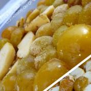Tarte aux mirabelles carmélisée au gingembre