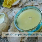 DIY : créer des bougies recyclées et écologiques