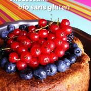 Recette : cheesecake bio sans gluten