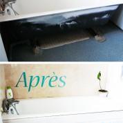 DIY : Comment faire un cache à baignoire