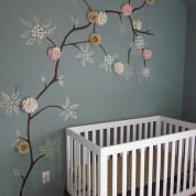 Une décoration pour chambre de bébé écologique