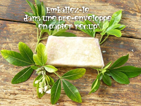 Diy cr er son savon maison bio eco createurs co cr ation diy cr ation - Emballage savon maison ...