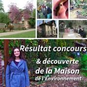 Résultat du concours et découverte de la Maison de l'Environnement