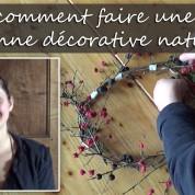DIY : comment faire une couronne décorative naturelle