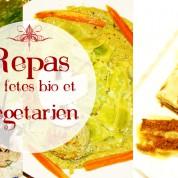 Repas de fêtes bio et végétarien