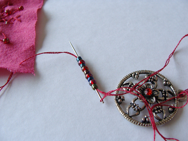 DIY  créer un pendentif en cœur récup' pour la st Valentin 6