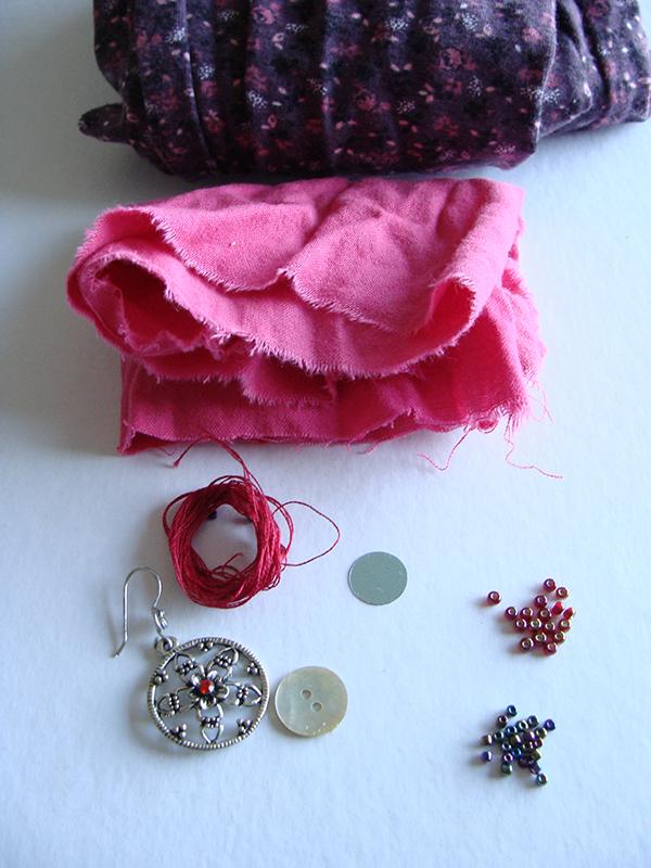 DIY  créer un pendentif en cœur récup' pour la st Valentin