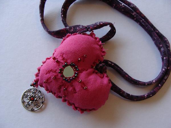 DIY  créer un pendentif en cœur récup' pour la st Valentin10