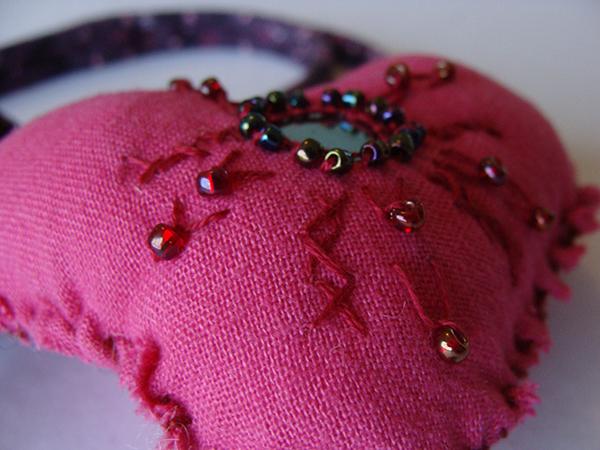 DIY  créer un pendentif en cœur récup' pour la st Valentin11