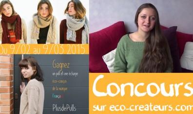 PlusdePulls, marque française de pulls en laine recyclée – CONCOURS créatif et non créatif –