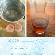 DIY : comment fabriquer sa lessive maison avec les cendres de la cheminée ?