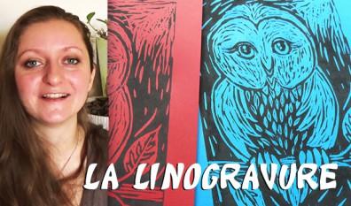 DIY : linogravure, ou comment imprimer chez soi naturellement
