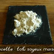 Recette du tofu soyeux maison