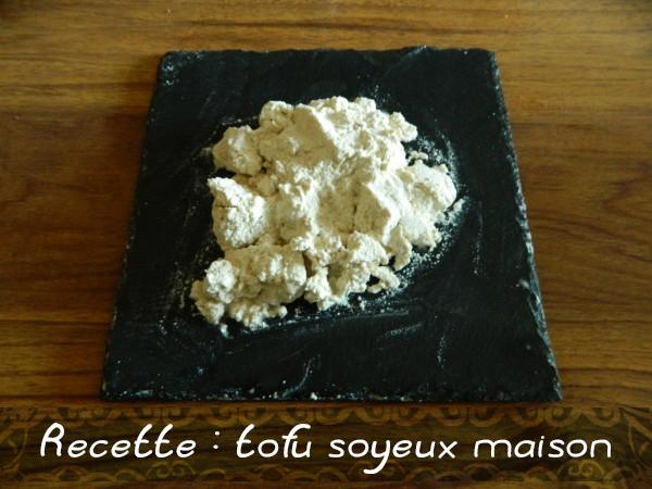 Recette tofu soyeux maison