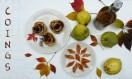 3 recettes de saison : le coing