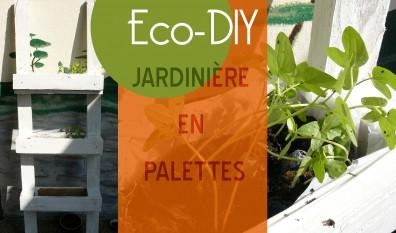 DIY : jardinière en palettes