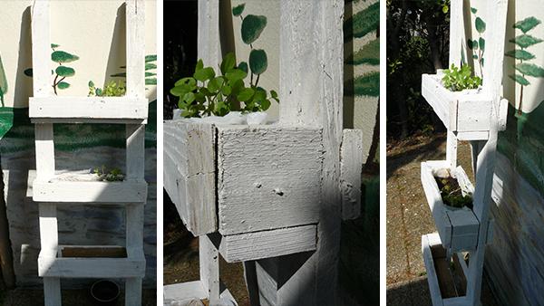 miniature jardinière en palettes 6