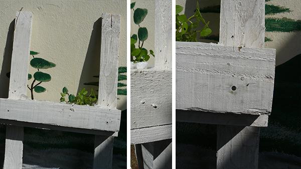 miniature jardinière en palettes 7