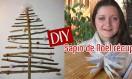 DIY : sapin de Noël récup'